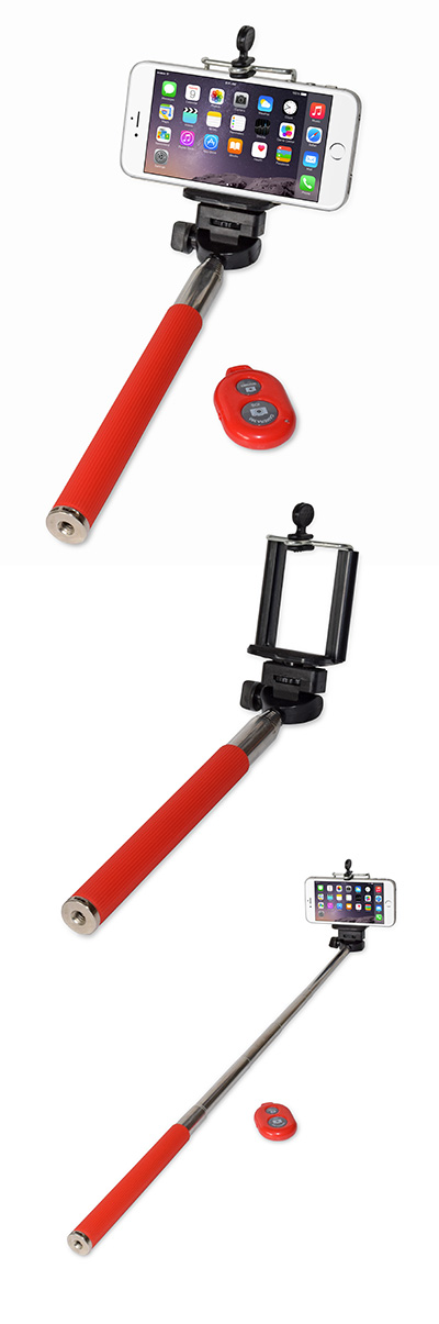 the selfie stick remote us flash and technology. Black Bedroom Furniture Sets. Home Design Ideas